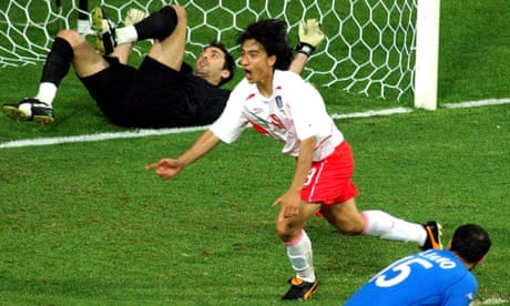 World Cup stunning moments: Italy shocked by South Korea in 2002 | Paolo Bandini
