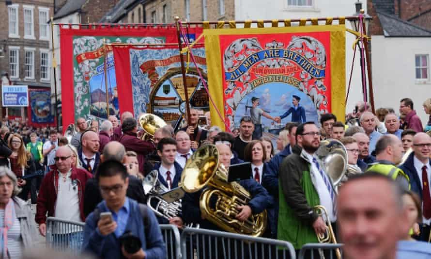 Last year's Durham Miner's Gala.