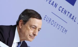 Mario Draghi, European Central Bank president, says eurozone monetary policy is not threatened by politics.
