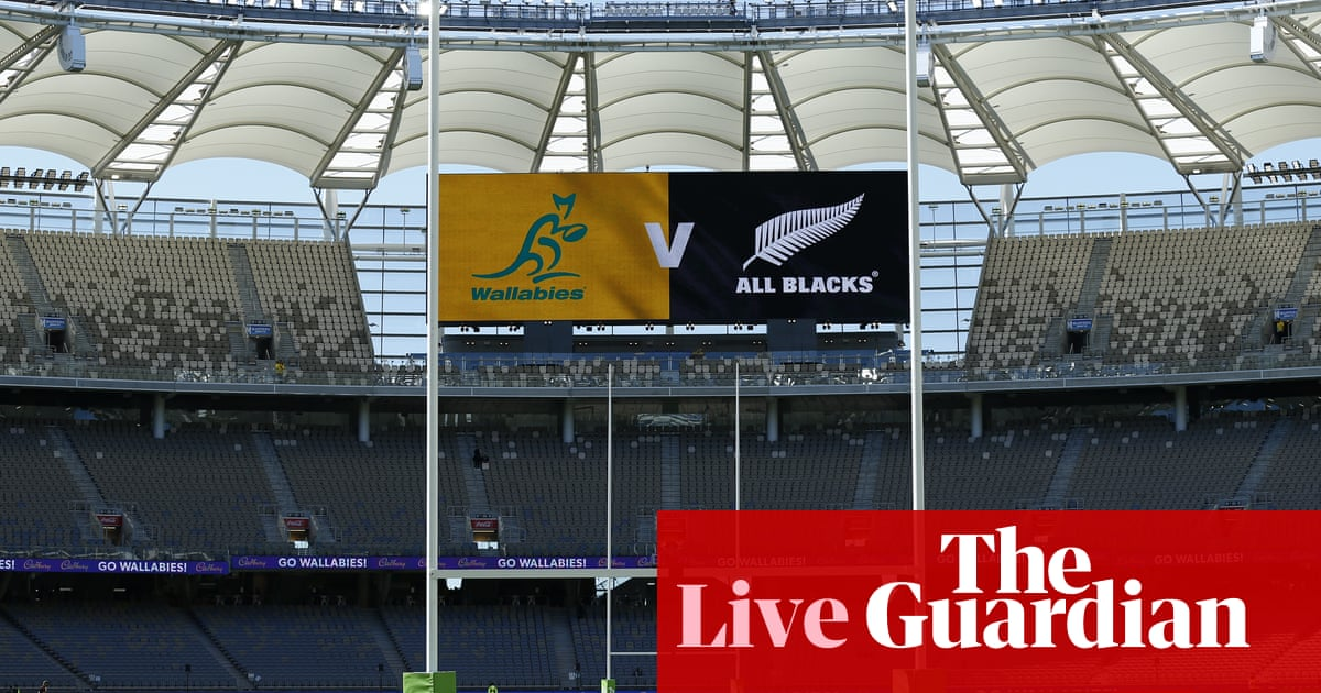 Bledisloe Cup 2021: Australia Wallabies v New Zealand All Blacks – Rugby Championship live!