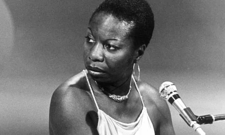 Nina Simone, 1977.