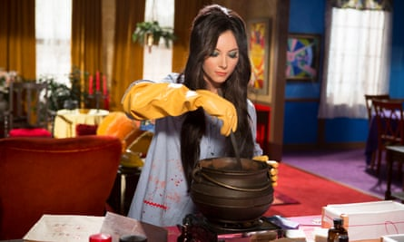 There's trouble brewing … Samantha Robinson in The Love Witch