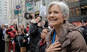 Green Party presidential nominee Jill Stein.