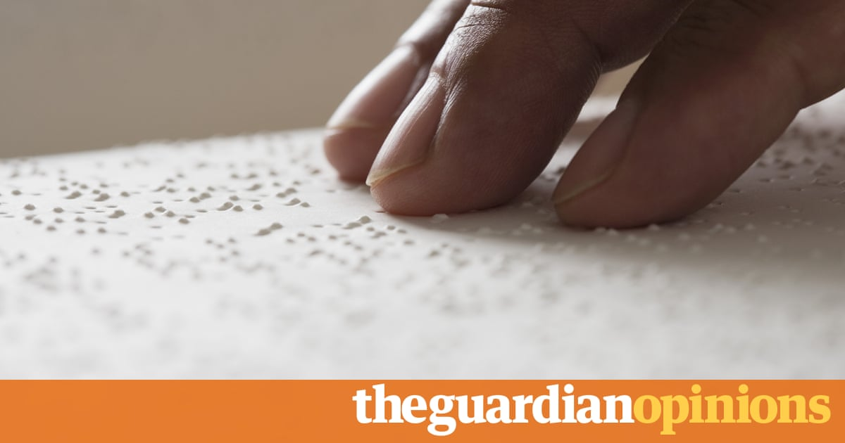 I'm registered blind. That doesn't mean you can assume things about me | Alex Lee