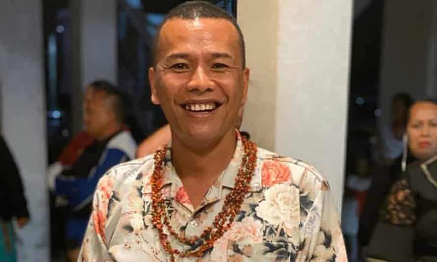 President of Tonga Leitis Association and prominent LGBTI activist Poli Kefu.