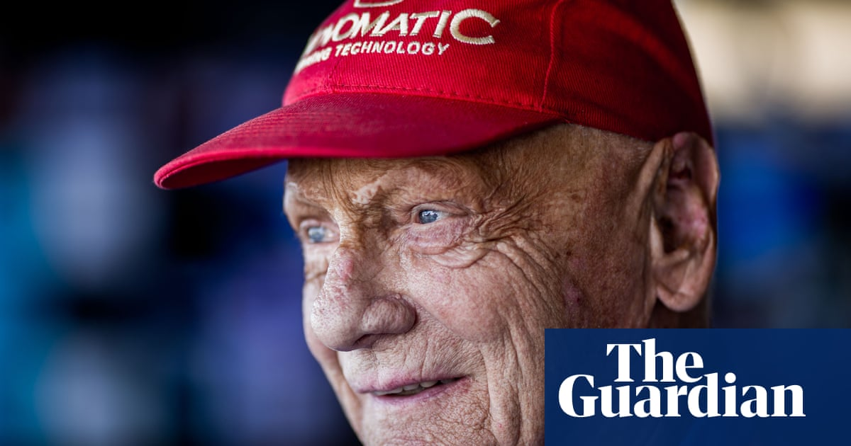 Niki Lauda: the three-time Formula One world champion's life – in pictures