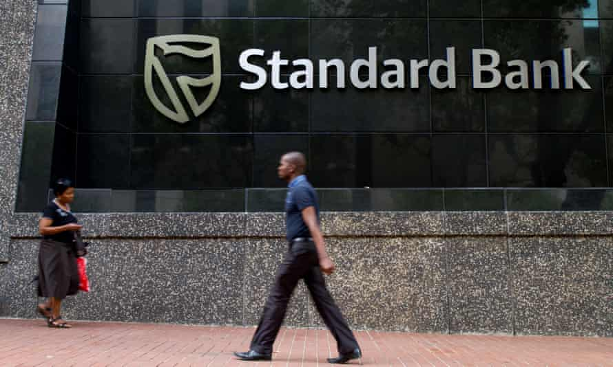 Headquarters of Standard Bank in Johannesburg, South Africa. The bank has now sold the unit in London.