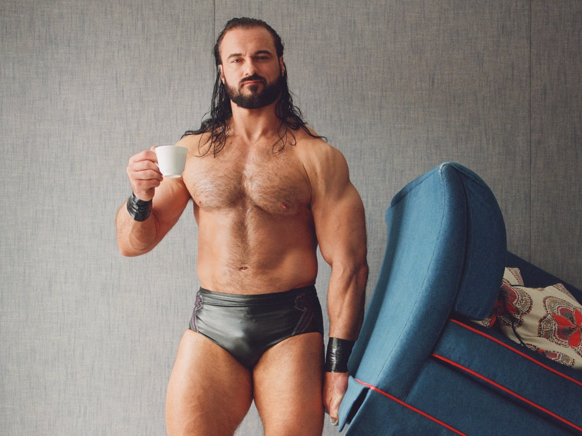 King of the ring: meet Drew McIntyre, Britain's larger than life wrestler | Culture | The Guardian