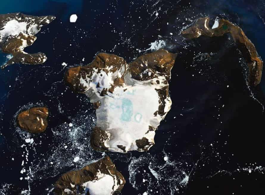 A satellite image