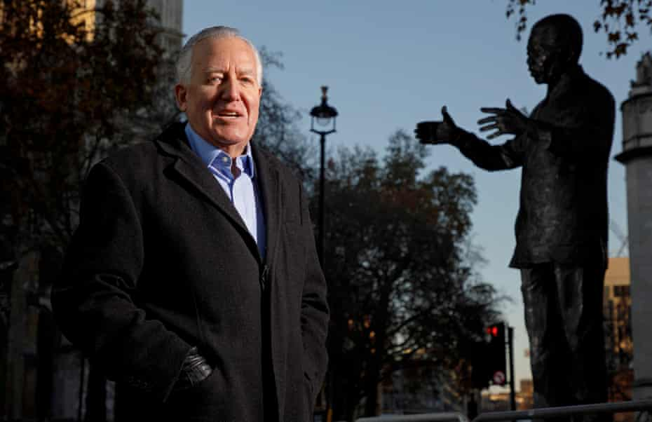 Peter Hain became a despised figure in South Africa and among conservative British society for his stand against apartheid.