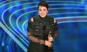 From Peep Show to The Favourite: Olivia Colman accepts her award for best actress