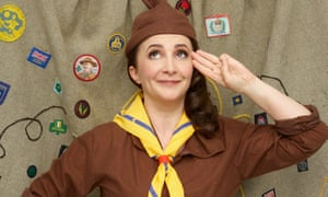 'I'd work really hard for my 'I haven't cried once today' badge' ... Lucy Porter