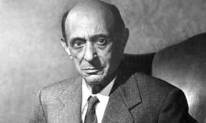 Arnold Schoenberg, in 1949.
