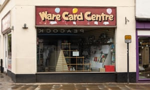 Ware Card Centre closed its doors at the end of Mother's Day, the day before Boris Johnson announced the coronavirus lockdown.