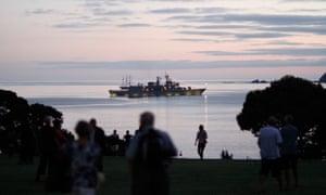 New Zealand Naval Frigate Te Kaha