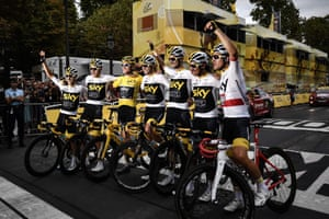 Team Sky's have been dominant in recent editions of the Tour de France