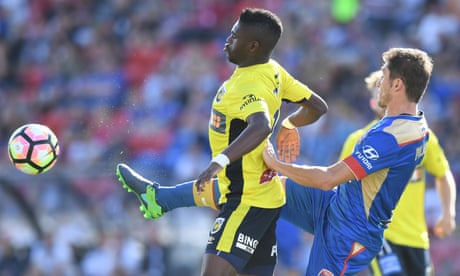 Jets miss out on A-League top six after F3 derby stalemate with Mariners