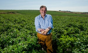 Meurig Raymond, president of the NFU, at his farm in Pembrokeshire, Wales.