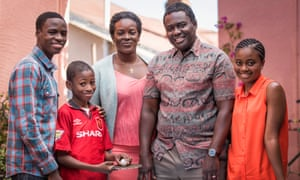 The Taylor family as portrayed in Damilola, Our Loved Boy