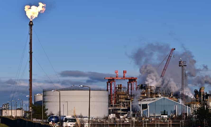 ExxonMobil's plant in Fife