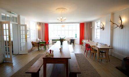 Dining room, Mhor 84 Motel