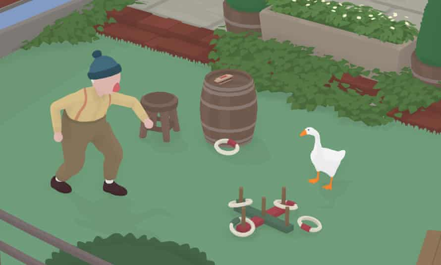You are an annoying goose … Untitled Goose Game.