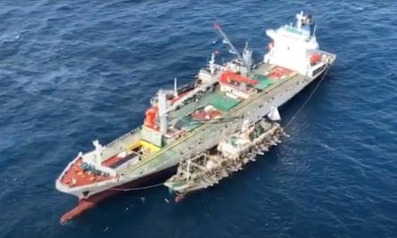 Perahu penangkap cumi Cina
