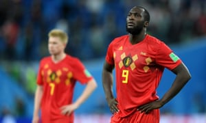Romelu Lukaku was constantly denied space by the France defence.
