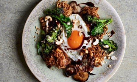 Spicy soy pork and tamarind mushrooms: Lara Lee's recipes for (almost) instant noodles