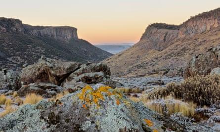 Ethiopia's Bale Mountains.