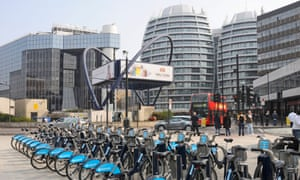 Old street roundabout, also known as Silicon Roundabout, the heart of London's 'tech city'.