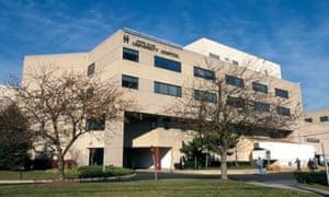 Exterior of Staten Island University Hospital.