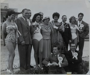 A beauty contest during the 1963 summer season