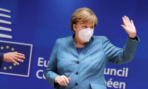 Angela Merkel is under growing pressure to introduce further restrictions.