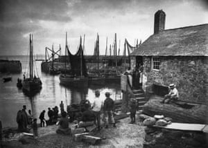 Mousehole in the 1890s