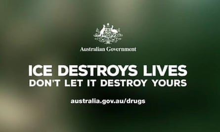 The Australian government's Ice Destroys Lives ad campaign has been criticised in submissions to a joint parliamentary inquiry.