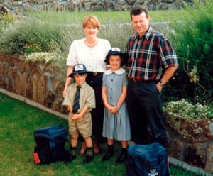 Suzanne Harris and Tom McAtee and family Muswellbrook 1997