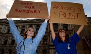 From 1 August 2017, NHS training bursaries for nurses, midwives and other allied healthcare professionals will be replaced with student loans