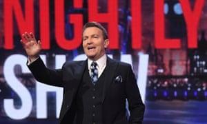 Bradley Walsh on The Nightly Show