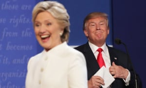 The final presidential debate between Clinton and Trump.