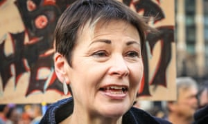Green party MP Caroline Lucas.