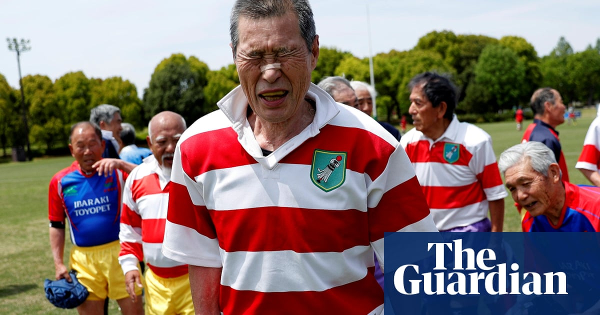 Japan's veteran maulers happy to die in their boots – in pictures