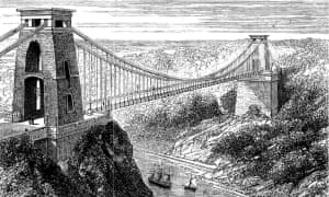 Clifton Suspension Bridge, 1878