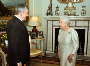 With Gordon Brown in 2010