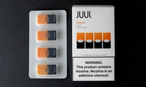 Juul chief executive Kevin Burns said the company wants to be 'the off-ramp for adult smokers to switch from cigarettes, not an on-ramp for America's youth to initiate on nicotine'.