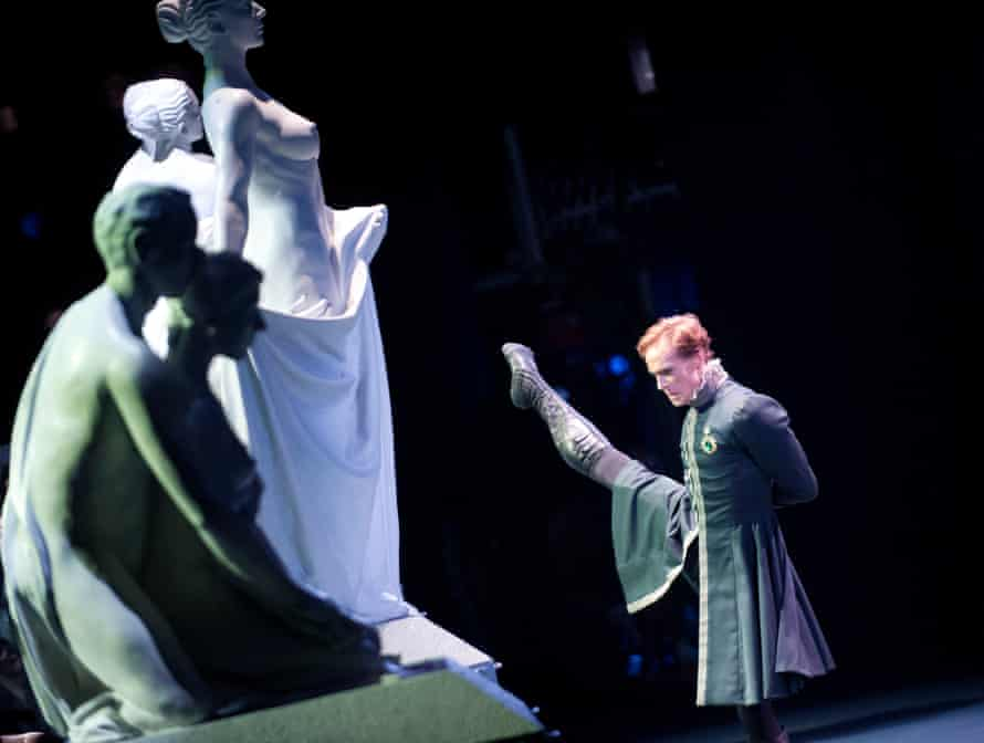 Edward Watson (Leontes) in The Winter's Tale by Christopher Wheeldon and the Royal Ballet at the Royal Opera House.