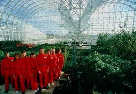 Sealed in ... Biosphere 2 in Spaceship Earth.