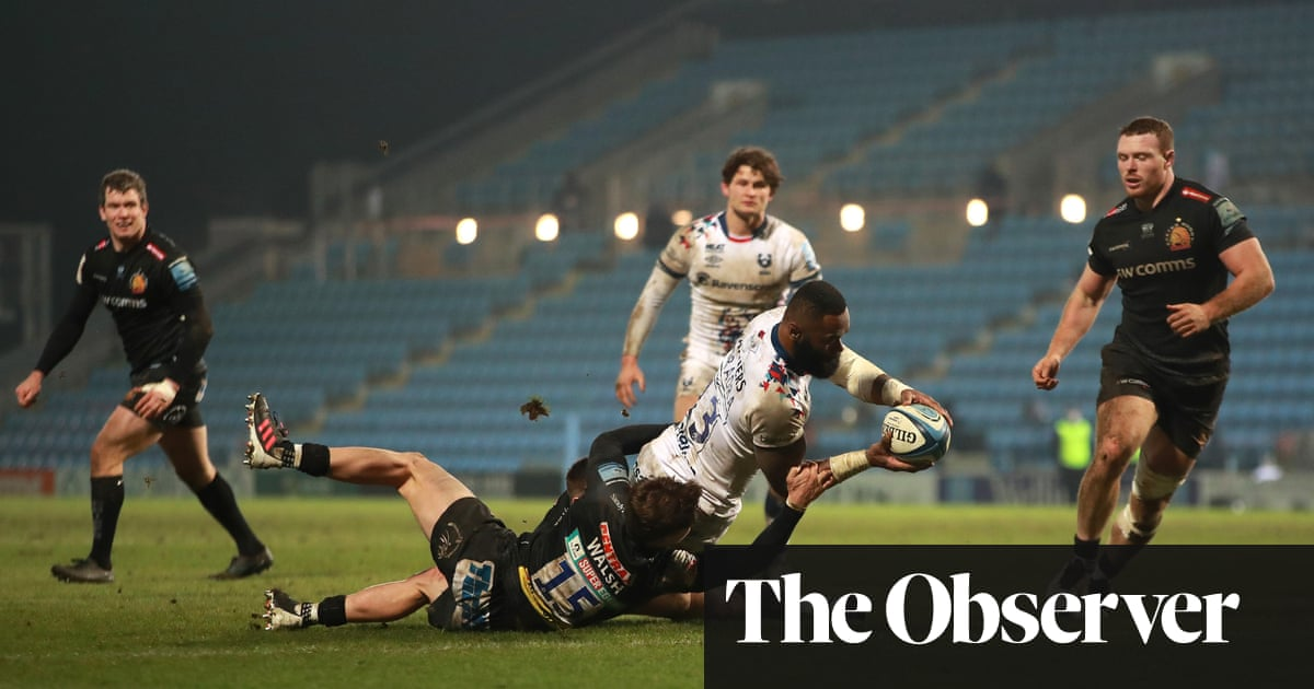 Semi Radradra has the final say as resilient Bristol outclass Exeter