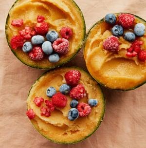 Anna Jones' quick melon sorbet