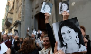 Image result for Daphne Caruana Galizia's assassination had been a joint Russian-Azerbaijani state-sponsored killing